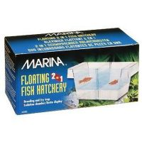 Marina 2 in 1 Floating Fish Hatchery Breeding Raising Community Aquarium Tank